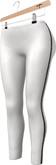 NYU - Side-Glitter Leggings, White