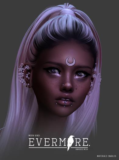 EVERMORE. [moon - bindi] - wear me
