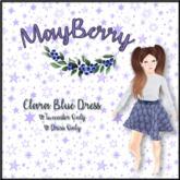 {MB} Clara Blue Dress [add-me]
