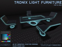 **ToKKen Industries** Tronix Light Furniture - (Mesh) UPDATE May/2019