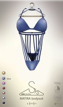 [sYs] MATIRA bodysuit (body mesh) - blue <3