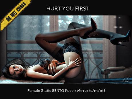 -DNC- Hurt You First - Female Bento Pose