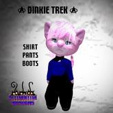 ~SWD~ Dinkie Trekkie Outfit Blue