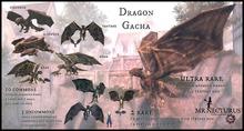 Mr Necturus & Jinx : Dragon Gacha Mini-Companion RARE