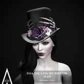 .AiShA. Dia De Los Muertos Hat Moonlight