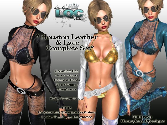 *LQC* ♕Houston Leather&Lace complete set ♕