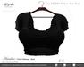~Nerido~ Ariadna T-Shirt(Maitreya)-Black