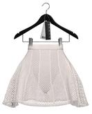 Rowne.Hyun Lace Skirt - White