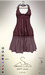 [sYs] MATY dress  (body mesh) - claret