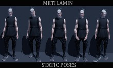 "BENTO""METILAMIN"".Male Poses .static set.40"
