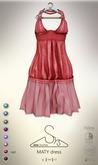 [sYs] MATY dress  (body mesh) - red