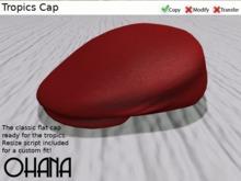 Ohana Tropics Cap Red (WEAR TO UNPACK)
