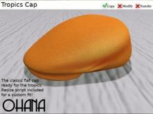 Ohana Tropics Cap Papaya (WEAR TO UNPACK)