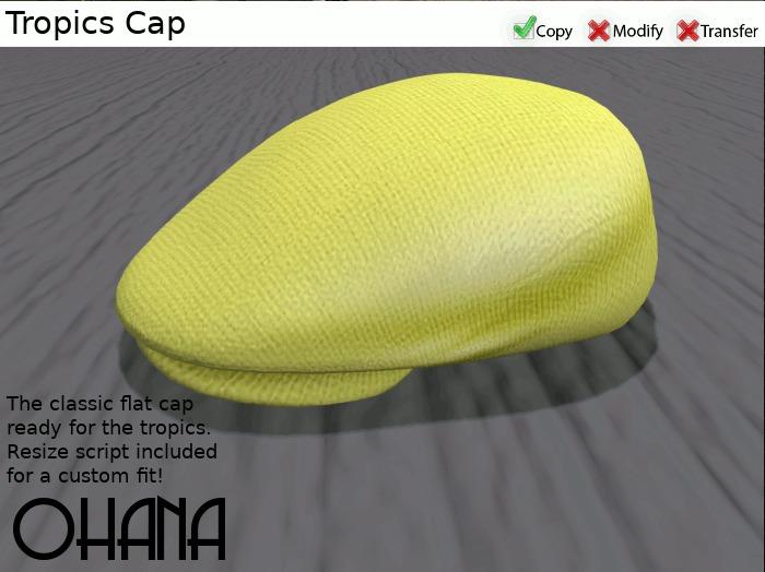 Ohana Tropics Cap Lemon