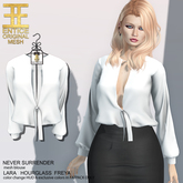 Entice - Never Surrender Top - White