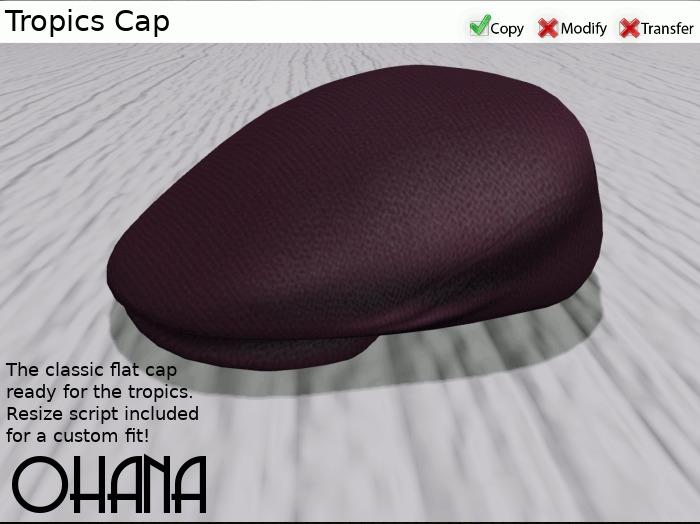 Ohana Tropics Cap Eggplant