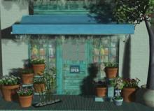 Lop Backdrop Spring Store (box)