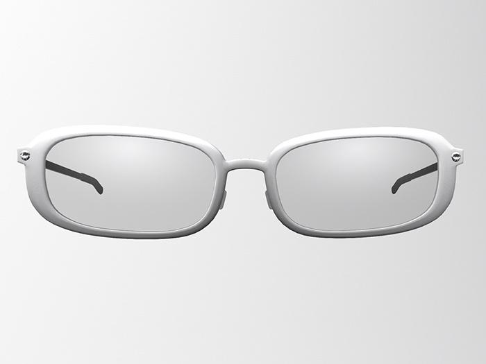 Rounded Rectangular Glasses / Sunglasses