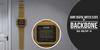 BackBone Giant Digital Watch Clock - Gold