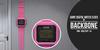 BackBone Giant Digital Watch Clock - Pink