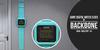 BackBone Giant Digital Watch Clock - Aqua