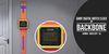 BackBone Giant Digital Watch Clock - Orange