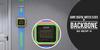 BackBone Giant Digital Watch Clock - Blue