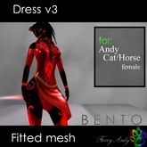 Furry Andy - Dress v3 for Andy Cat