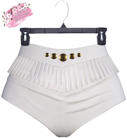 Adda EXCLUSIVE Female  Shorts Mesh- MAITREYA LARA - White Color CB collection