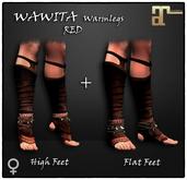 [JANGKA] WAWITA Warmlegs RED [Maitreya] HUD