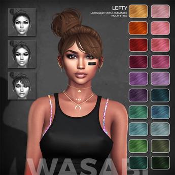 Wasabi // Lefty Mesh Hair - Fireworks
