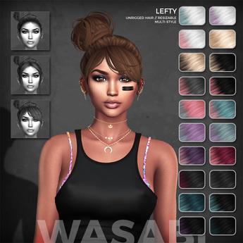 Wasabi // Lefty Mesh Hair - Lunar Ombre