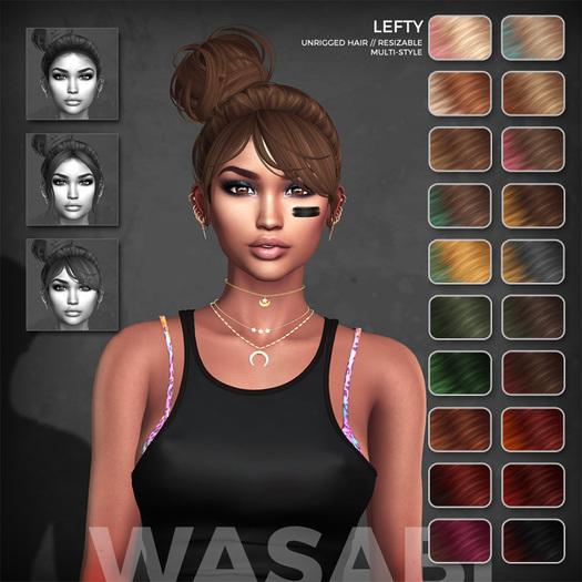 Wasabi // Lefty Mesh Hair - Solar Ombre