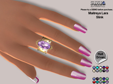 [SuXue Mesh] FATPACK su11 Bento Rigged Rings Maitreya Lara Slink with Hud Left middle finger