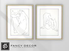 Fancy Decor: Capo Figure Drawings