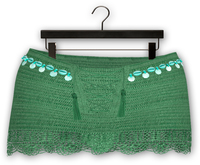 "Addams ""Danika"" Crochet Skirt #16"