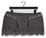 "Addams ""Danika"" Crochet Skirt #30"