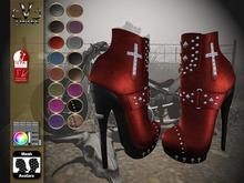 V-Twins Biker Boots - Payton FAT PACK 24 COLORS (SLink, Belleza Maitreya (HUD included)