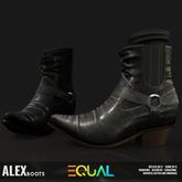 EQUAL - Alex Boots BLACK