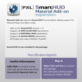 [PXL] SmartHUD Material Add-on