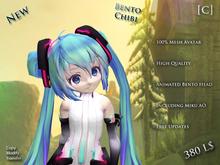 [C] Chibi Miku Avatar (Bento) (Animated)