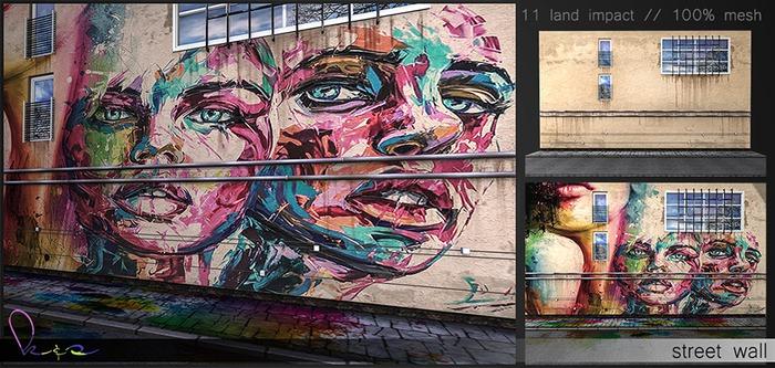 K&S - // street wall // backdrop