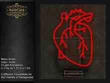 .: RatzCatz :. Neon Sign Wall *Heart*