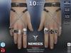 **RE** Nemesis Rings Set - Signature Gianni - SLink Dynamic Male