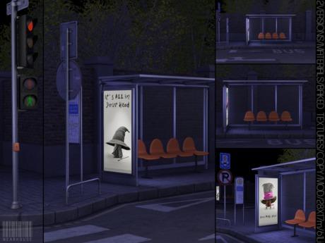 WeArH0uSE [bus stop] Backdrop