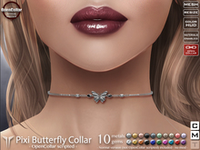 **RE** Pixi Butterfly Collar RLV - OpenCollar