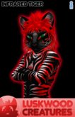 Luskwood Tiger - Infra Red Male - Furry Avatar
