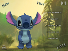 [C] Stitch Avatar + Animesh