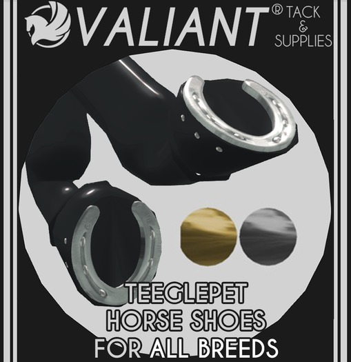 VALIANT - TEEGLEPET Horseshoes [ALL BREEDS]