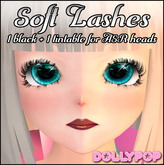 ~Dollypop~ Soft Lashes for ASR Heads